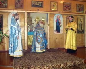 Передача частицы мощей св.Иоанна Милостивого